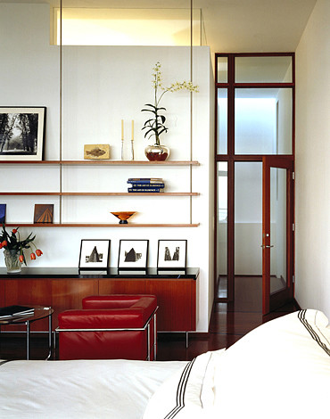 KANNER ARCHITECTS modern bedroom