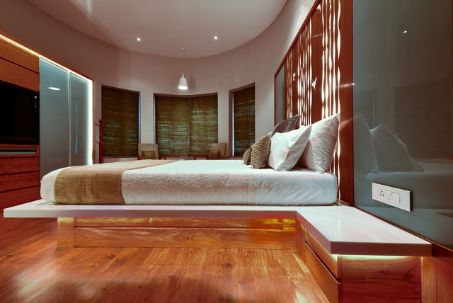 Kapoor House Asian Bedroom Ahmedabad By Patel