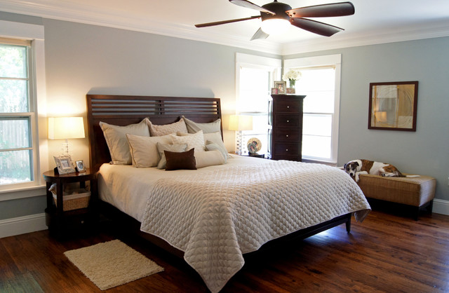 contemporary bedroom by Kara Weik
