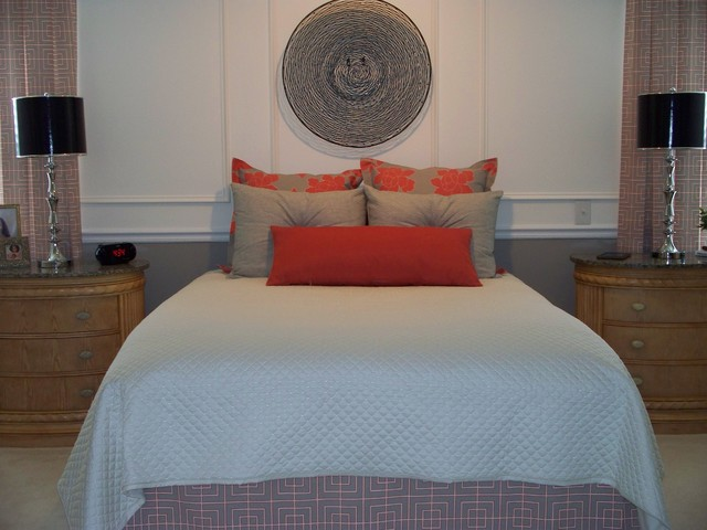 Karrie Marchbanks of LifeStyle Interiors modern-bedroom