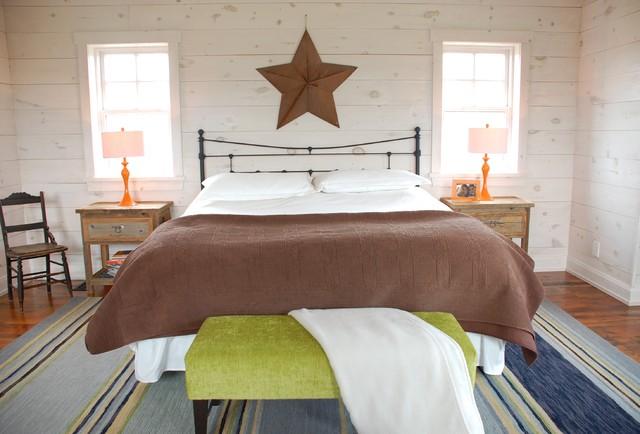 Kate Davidson Design Inc eclectic-bedroom