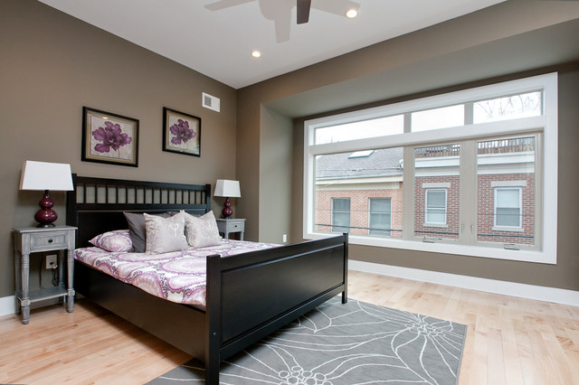 Kater Street contemporary-bedroom