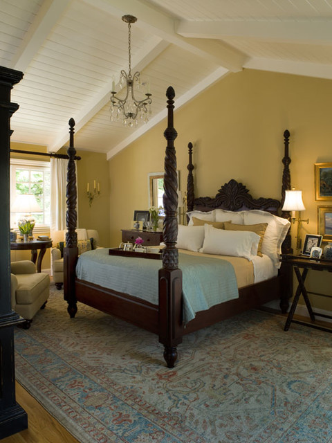 Beautiful Traditional Bedroom by Kathleen Burke Design
