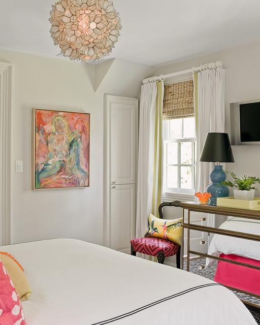 Katie Rosenfeld Interiors transitional-bedroom