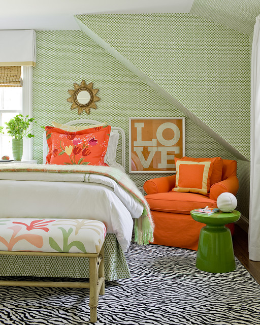 Bedroom Lighting Ideas Low Ceiling Bedroom Colours Green Bedroom Decor Pictures Ideas Kids Bedroom Paint Ideas Boys: Katie Rosenfeld Interiors