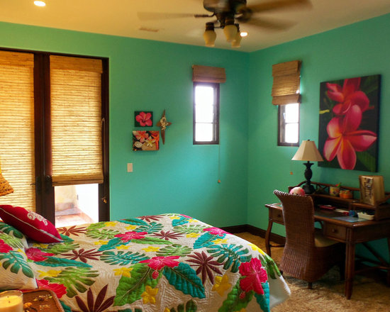tropical bedroom decorating home design ideas pictures remodel and