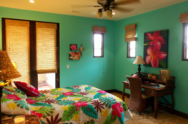 kelsey s bedroom tropical bedroom orange county by 13590 | tropical bedroom