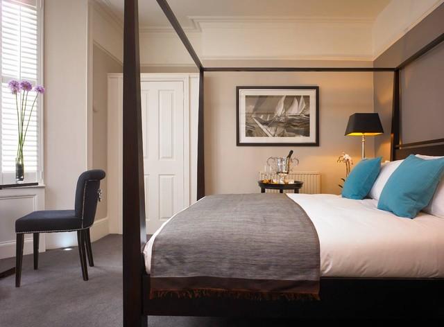 Kemptown House contemporary-bedroom