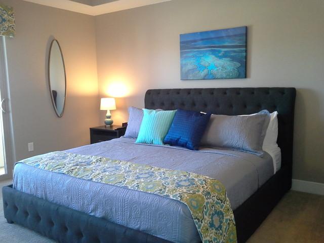Ken S Water Themed Rental Condo Contemporary Bedroom