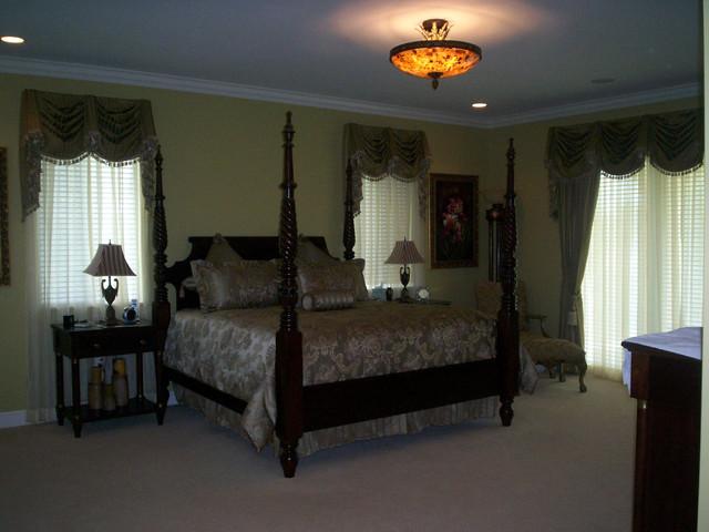Kendall home Master bedroom tropical-bedroom