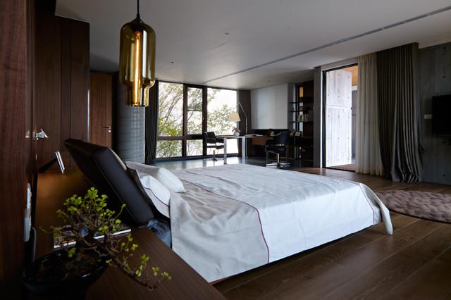 Keng-Fu Lo contemporary-bedroom