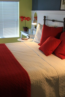 Kenner Residence - Traditional - Bedroom - tampa - by A & B Design Firm
