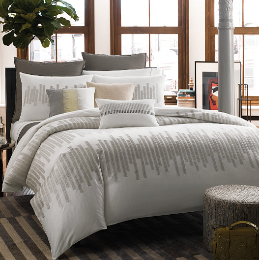 Kenneth Cole Bed Skirt Houzz, Kenneth Cole Bedding Oatmeal