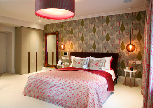 Contemporary Bedroom by London Interior Designers & Decorators Morph Interior Ltd