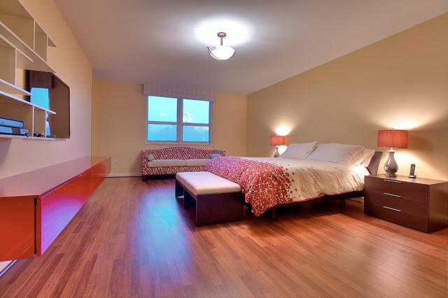 Key Biscayne 611 eclectic-bedroom