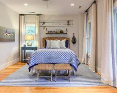 Kiawah Beach House for GDC beach-style-bedroom