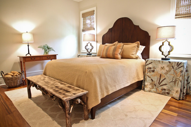 Kiawah Family Home beach-style-bedroom