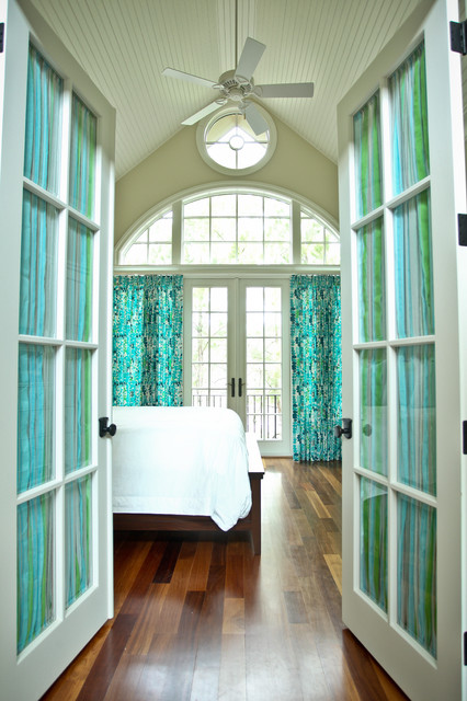 Kiawah Family Home eclectic-bedroom