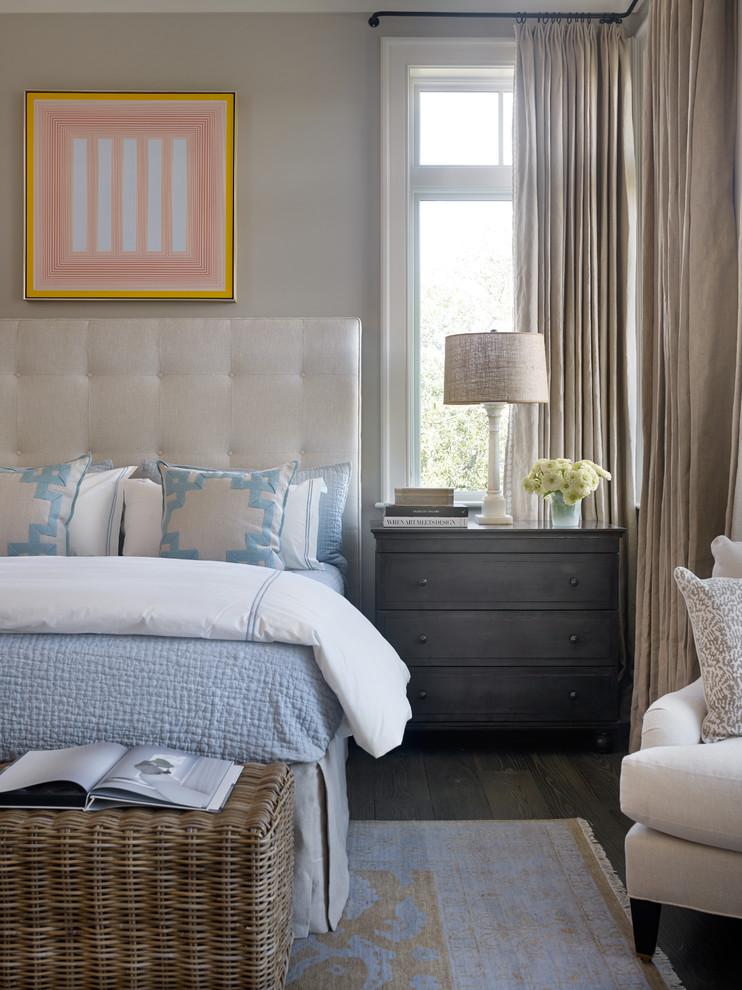 Example of a beach style bedroom design in Atlanta