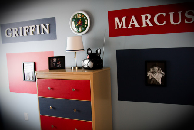 Kiddos Rooms - Eclectic - Bedroom - Other - by Monica Hart Interior ...