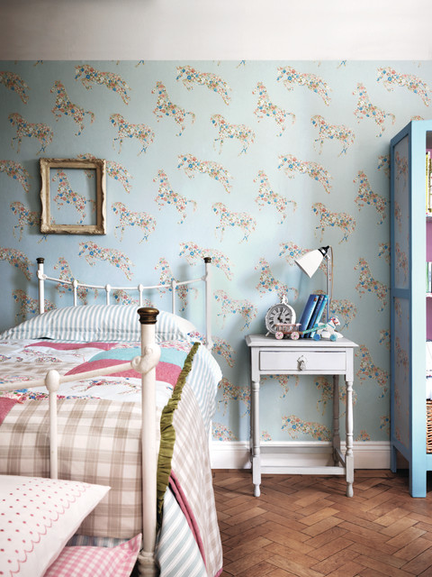 Kids Rooms - Shabby-chic Style - Bedroom - Other - by Wallpaperdirect