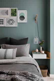 75 Beautiful Scandinavian Bedroom Pictures Ideas October 2020 Houzz