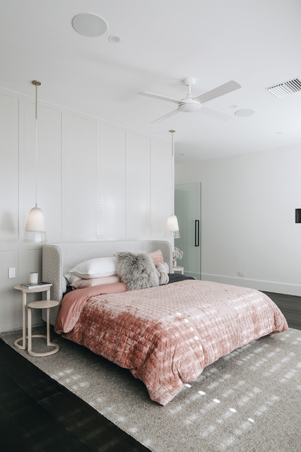 King St contemporary-bedroom