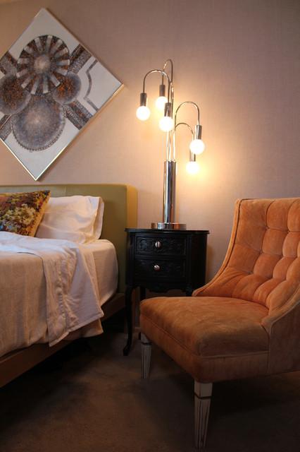 Kings eclectic-bedroom