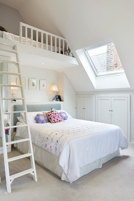 Kingston Upon Thames Surrey Traditional Bedroom