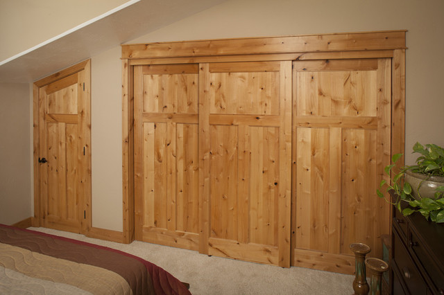 Attirant Knotty Alder Doors   Eclectic   Bedroom   Seattle   By ...
