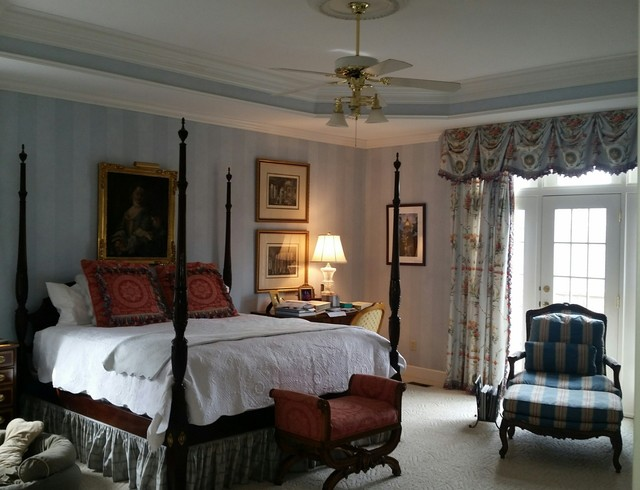 Knoxville residence master suite traditional bedroom for Bedroom furniture knoxville tn