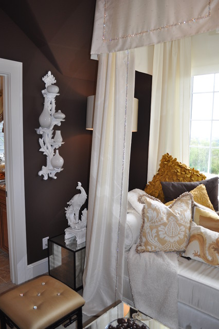 knoxville tennessee showhouse eclectic-bedroom