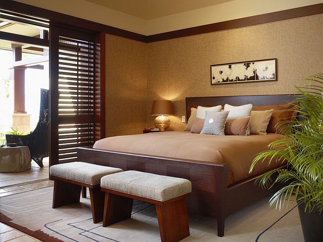 Knudson Interiors Contemporary Bedroom Hawaii By