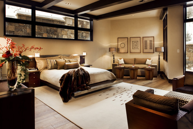 contemporary bedroom by knudson interiors - Basement Bedroom Ideas