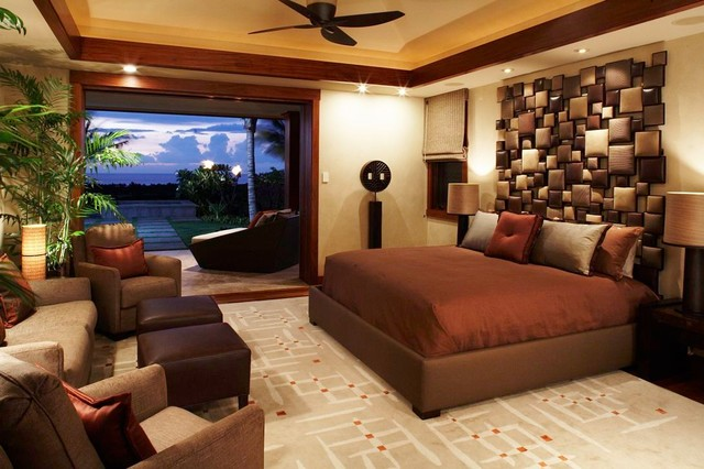 Kuikawa tropical-bedroom