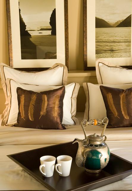 LA Itallian Villa Hillside home mediterranean-bedroom