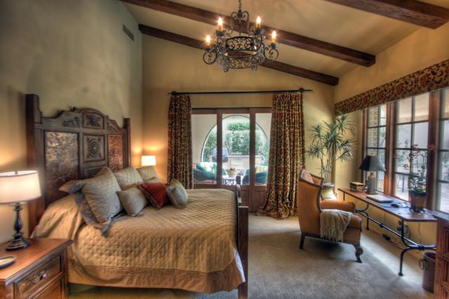 Schlafzimmer Mediterran : Tuscan Style Bedrooms Design