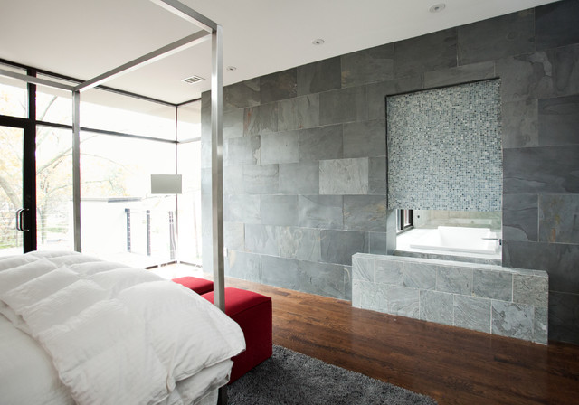 modern bedroom by Cablik Enterprises
