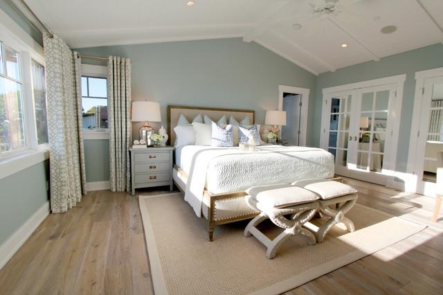 Laguna Beach Residence Style Bedroom Orange