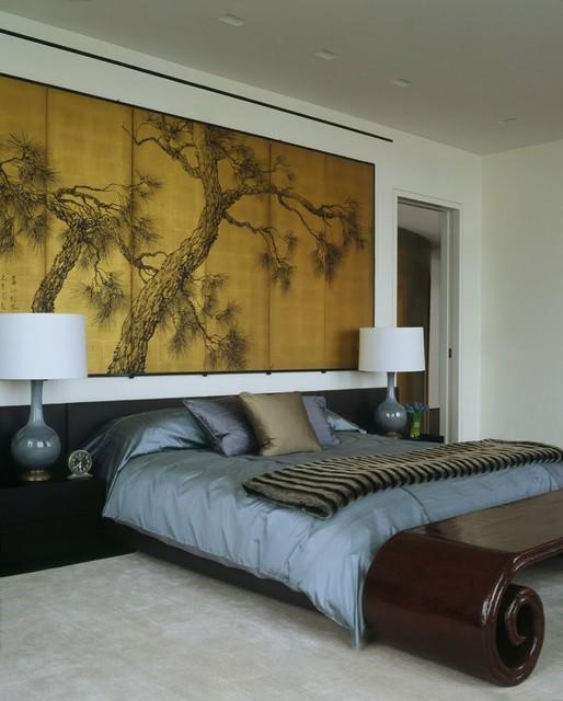 Laight Loft asian-bedroom