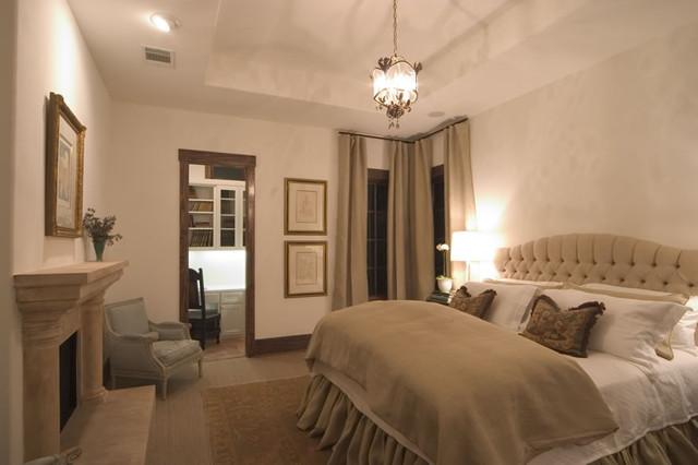 Lake Austin Tuscan VIlla mediterranean-bedroom