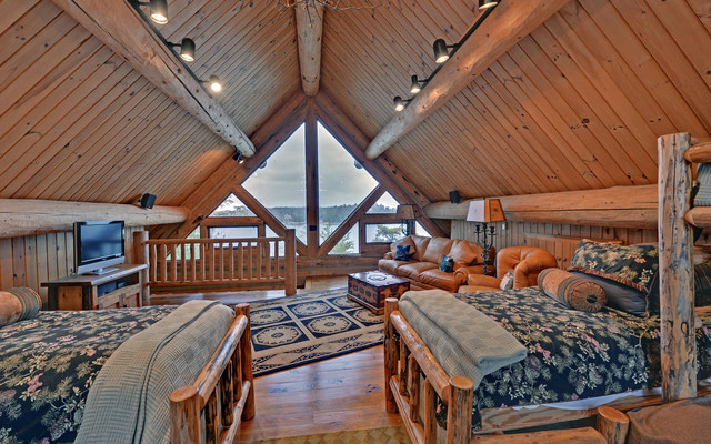 Lake Blue Ridge Custom Log Home