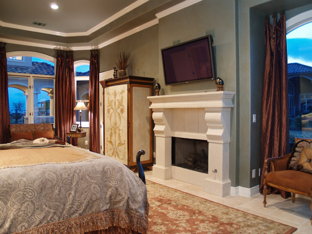 Lake Cliff traditional bedroom