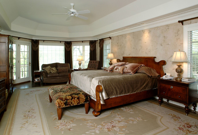 Lake Forest custom residence 02 traditional-bedroom