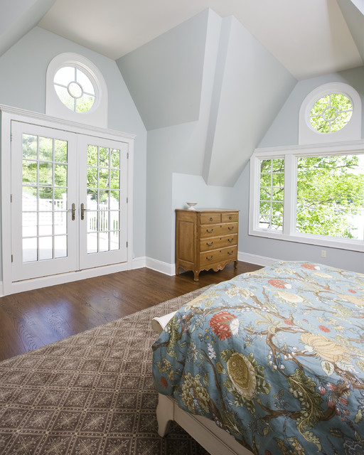 Lake House Project traditional-bedroom
