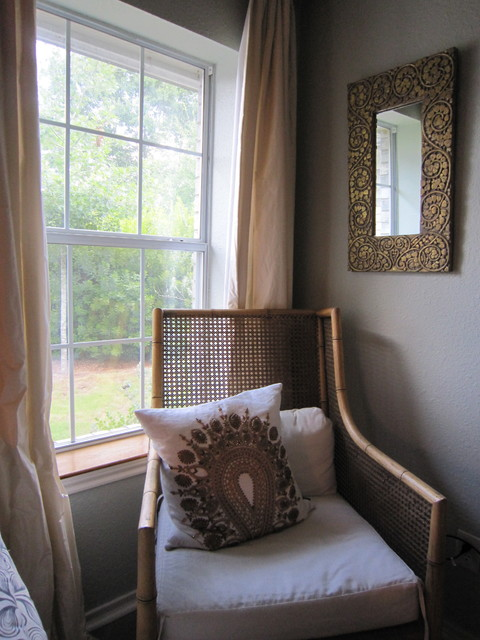 Lake House Ranch eclectic-bedroom