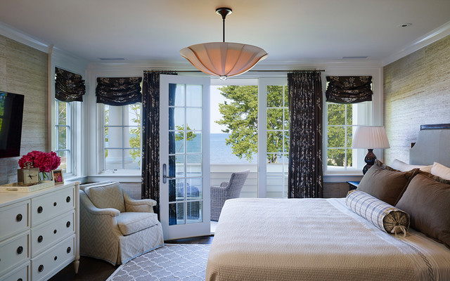 lake house - Traditional - Bedroom - chicago - by Stuart ...