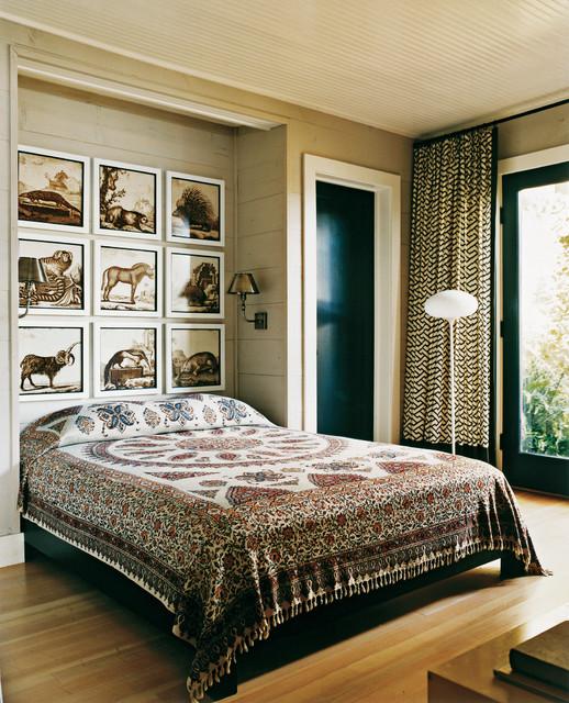 Lake House rustic-bedroom