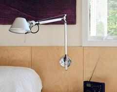 Lake Iosco House interior modern-bedroom