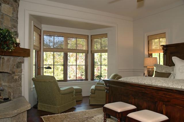 Lake Keowee, SC rustic-bedroom